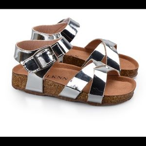 Other - Toddler Girls Silver Sandals